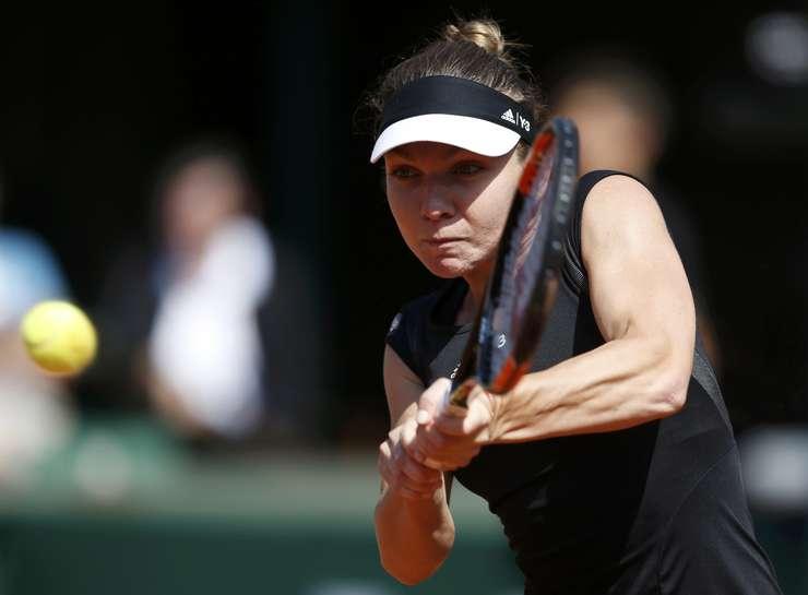 Simona Halep, la Roland Garros (Foto: Reuters/Vincent Kessler)