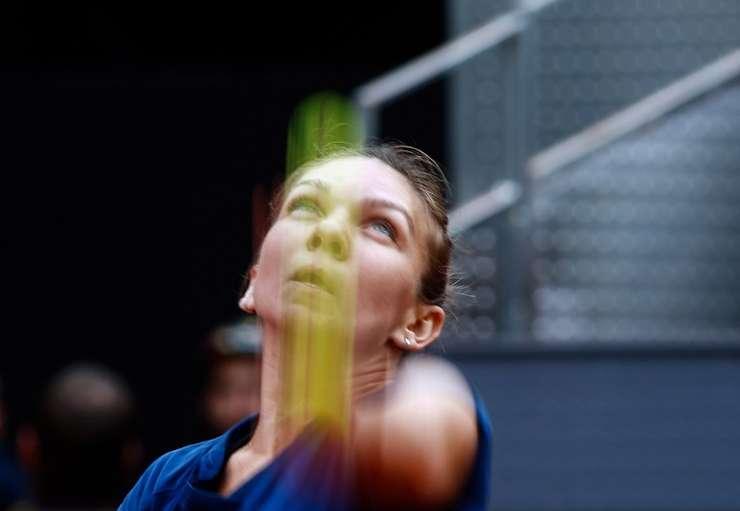 Simona Halep merge mai departe la turneul de la Roma (Foto: AFP/Oscar Del Pozo/arhivă)
