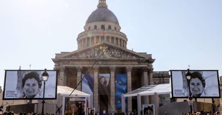 Simone Veil intra în Panthéon la un an de la decesul sau, pe 30 iunie 2017, la vârsta de 89 de ani.