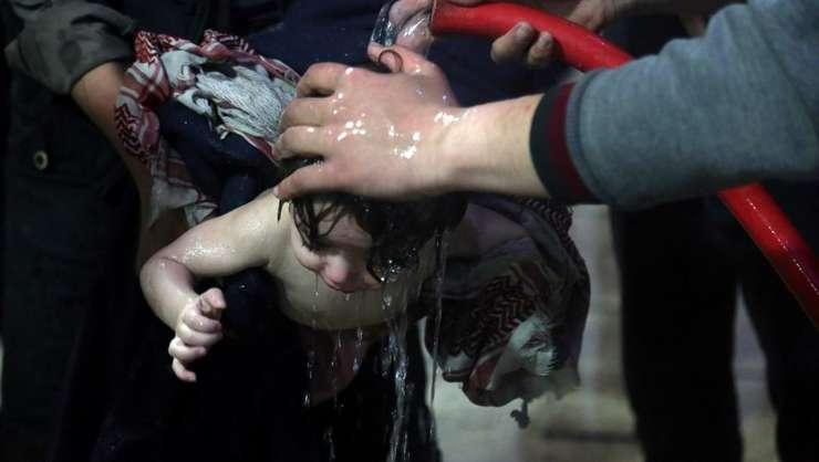 Intr-un spital din Douma, dupà atacul din 7 aprilie