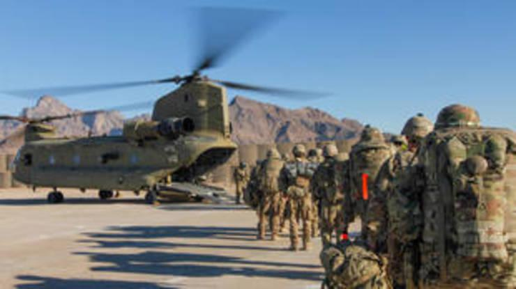 Soldati americani în ianuarie 2019.