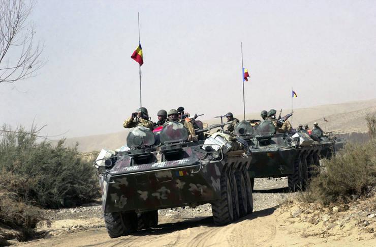 Militarii executau o misiune de patrulare în provincia Kandahar, Afganistan