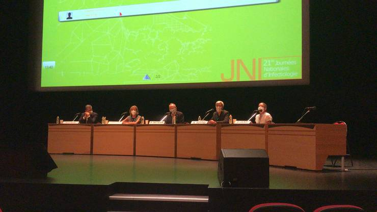 Oratori la al 21-lea congres national de infectiologie care s-a derulat la Poitiers.
