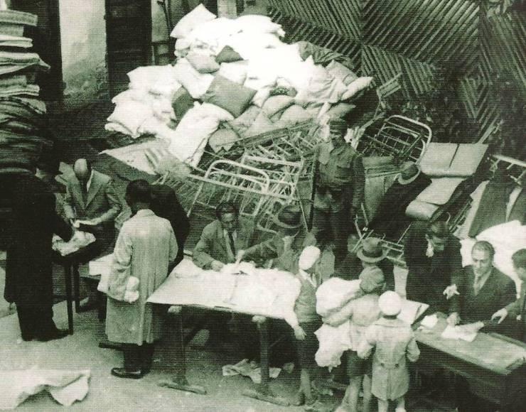 Donații făcute de evrei din România în timpul celui de-al doilea război mondial