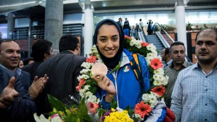 sportiva Kimia Alizadeh a fugit din Iran