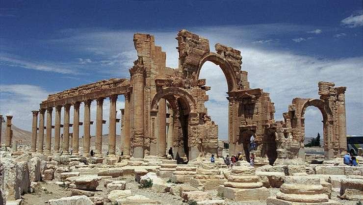 Arcul de Triumf din Palmira (Foto: Jerzy Strzelecki/sursa: Wikipedia)