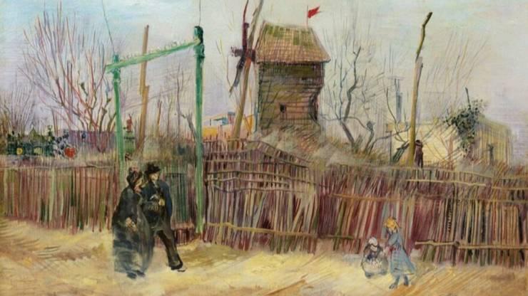 Tabloul semnat de Van Gogh a fost achizitionat în 1920 de o familie franceza si nu a fost niciodata pe piata ori expus în public.