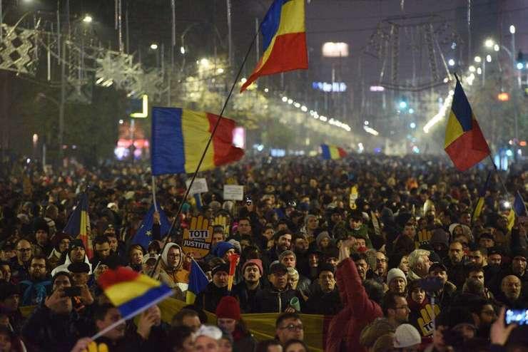 Proteste în Bucureşti, arhivă, 26 noiembrie 2017 (Sursa foto: Facebook/Alberto Groşescu)