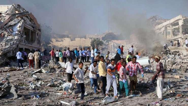 Pe 14 octombrie 2017, la Mogadiscio, în Somalia, a avut loc cel mai sângeros atentat din istoria Africii moderne. El a fàcut 587 de morti.