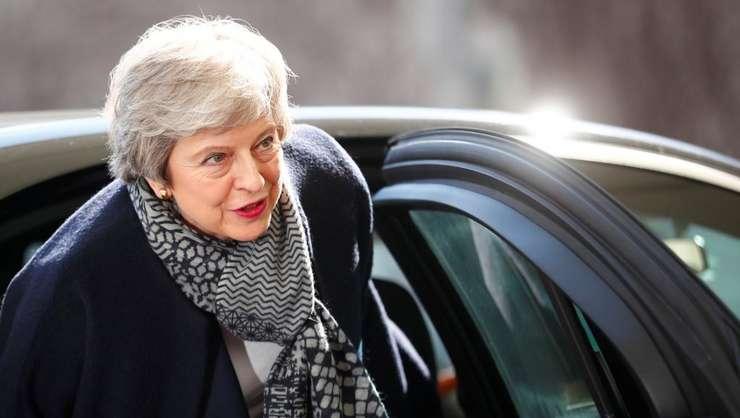 Theresa May demisionează (Foto: Reuters/Hannibal Hanschke)
