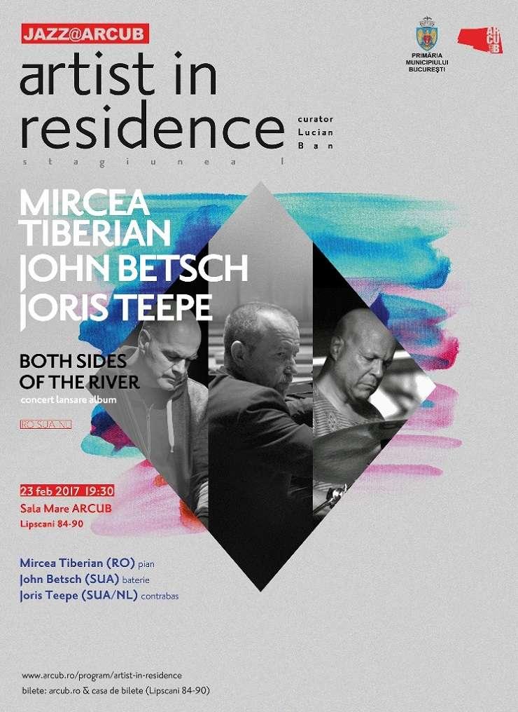 Mircea Tiberian Trio, ARCUB, 2017
