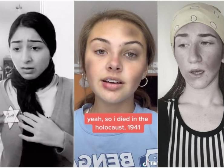 Adolescenți care pretind a fi victime ale Holocaustului