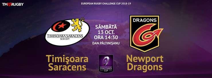 Timișoara Saracens - Dragons