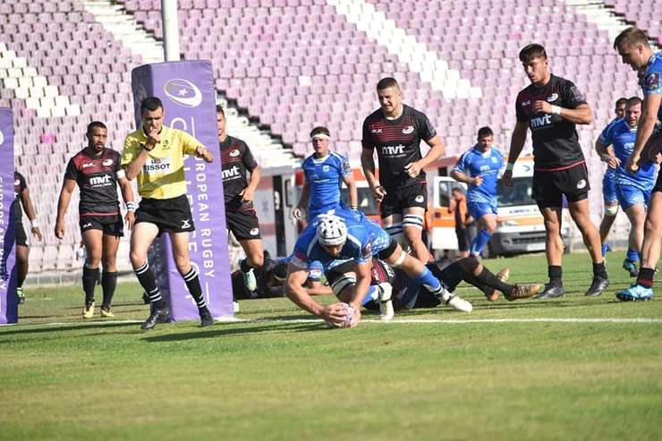 Timișoara Saracens 17 Dragons 54
