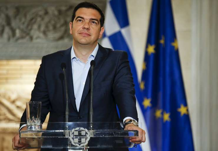 Premierul grec, Alexis Tsipras (Foto: Reuters/Paul Hanna)