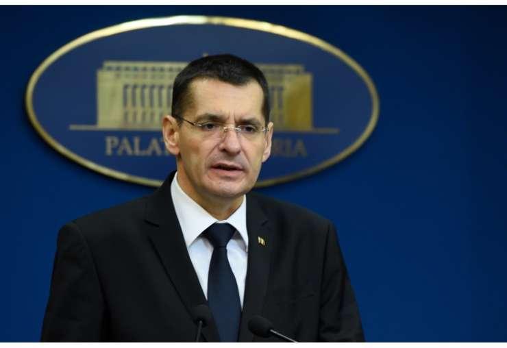 Petre Toba a demisionat din functia de ministru de Interne