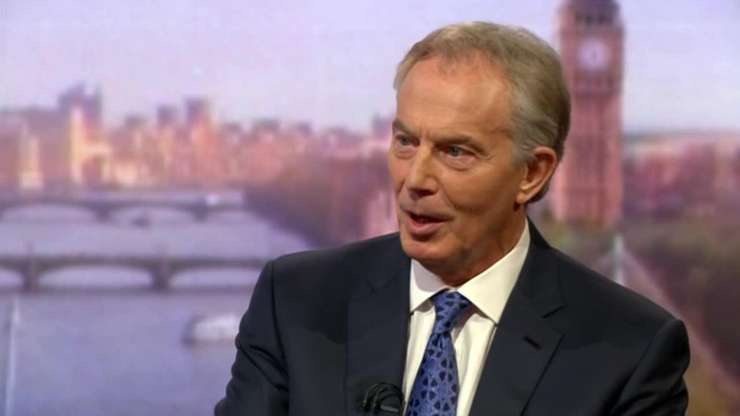 Tony Blair intervievat de BBC