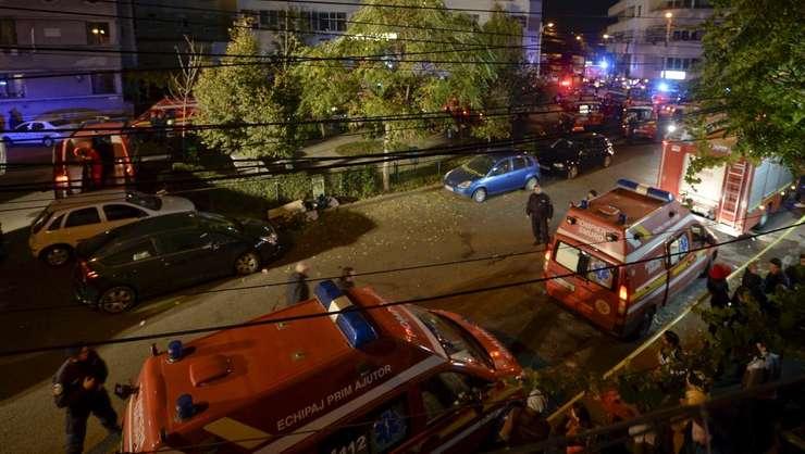 Tragedie într-un club din Capitală (Foto: Reuters/Inquam Photos)
