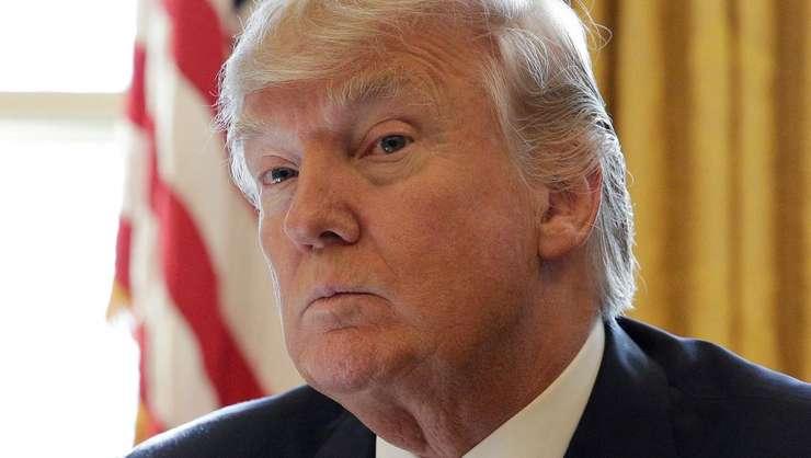 Presedintele american Donald Trump la Casa albà, 8 februarie 2017