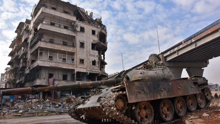 Trupe siriene în Alep, 7 decembrie 2016