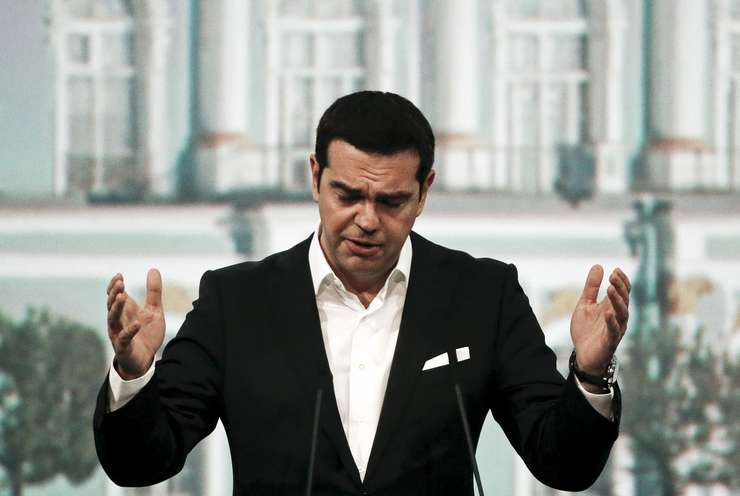 Premierul grec, Alexis Tsipras (Foto: Reuters/Grigory Dukor)
