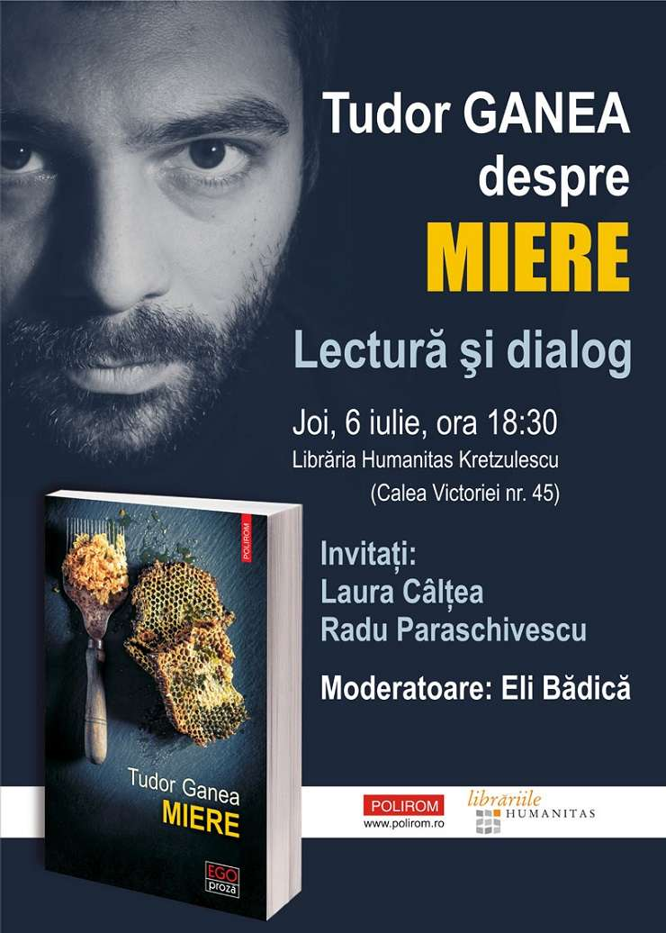 Lectură și dialog, Povestea mierii, Tudor Ganea, București 2017
