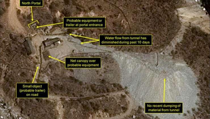 Tuneluri de încercare a armelor nucleare, o instalatie secreta aflata în apropiere de frontiera cu China, vor fi distruse prin explozii
