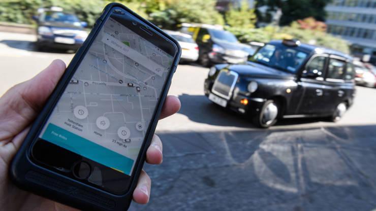 Uber Londra