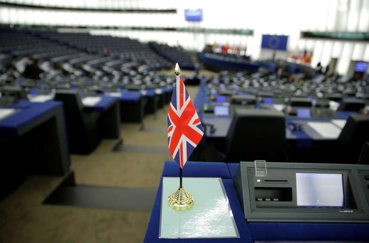 Drapelul britanic în Parlamentul European