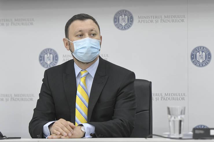 Mircea Fechet preia postul de ministru al Mediului (Sursa: MEDIAFAX FOTO/Andreea Alexandru)