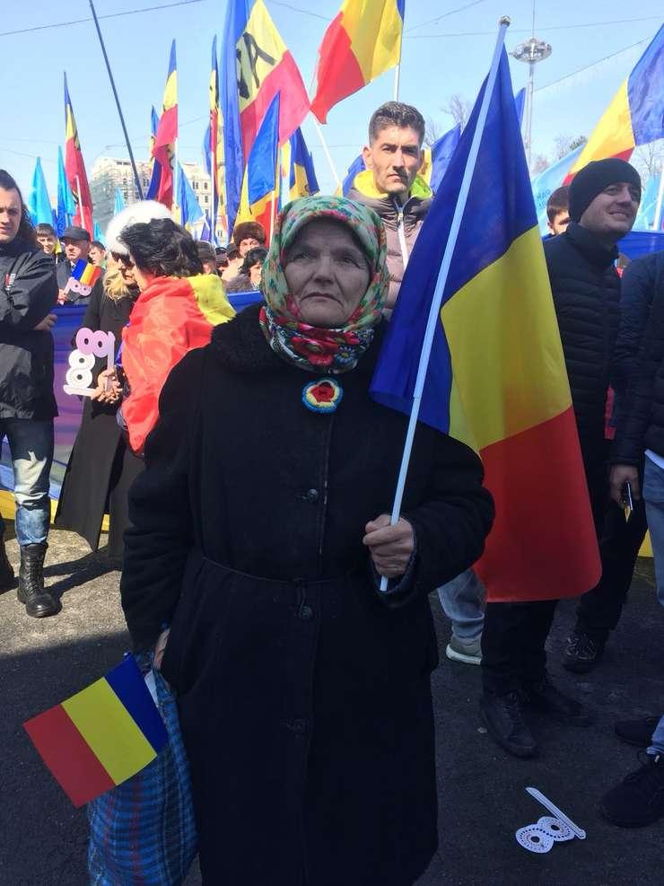 Câteva zeci de mii de oameni au participat, duminică, la Chișinău, la Marea Adunare Centenară.