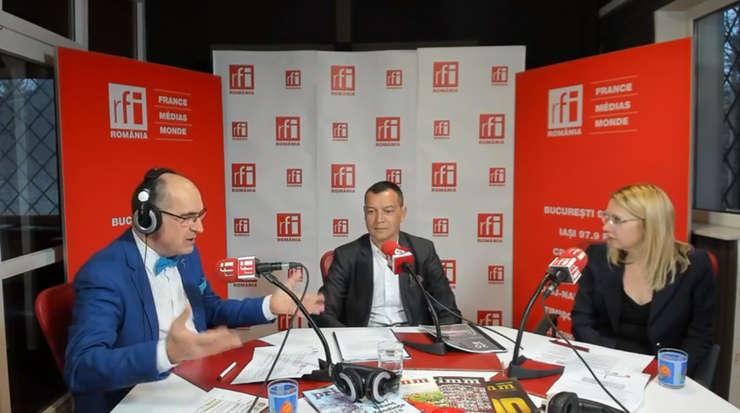 Sergiu COSTACHE, Antonio SOUVANNASOUCK și Mihaela CÎRCU