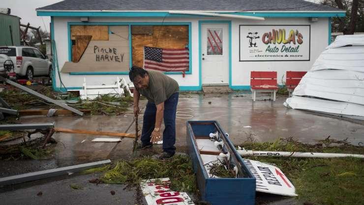Uraganul Harvey a lăsat în urmă un adevărat dezastru în Texas (Foto: Reuters/Adrees Latif)