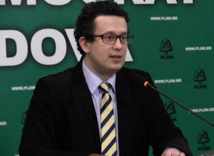 Vicepreședintele PLDM Vadim Pistrinciuc