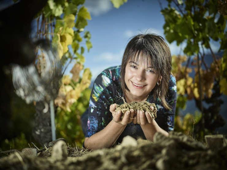 Valentina Andrei, viticultoare în regiunea Valais din Elvetia
