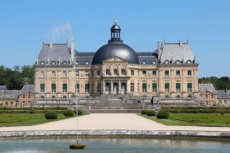 """Castelul Vaux-le-Vicomte a servit drept """"model"""" pentru Versailles"""