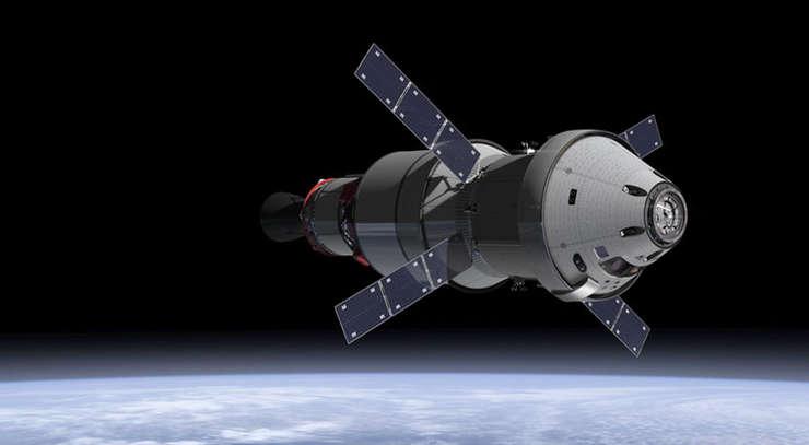 Vehiculul spaţial Orion (Foto: www.nasa.gov)