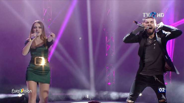 Ilinca şi Alex Florea au câştigat concursul naţional Eurovision 2017