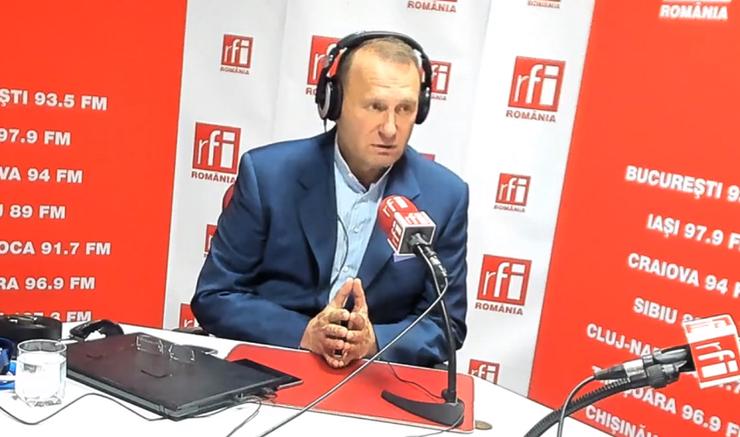 Viorel Cataramă, în studioul RFI