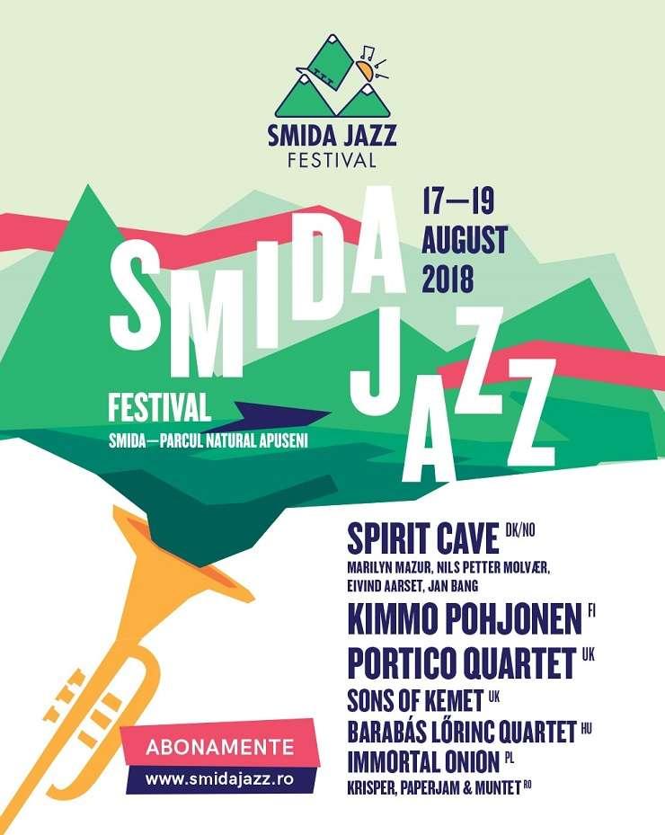 Afiș Smida Jazz Festival, ediția a III-a, 2018