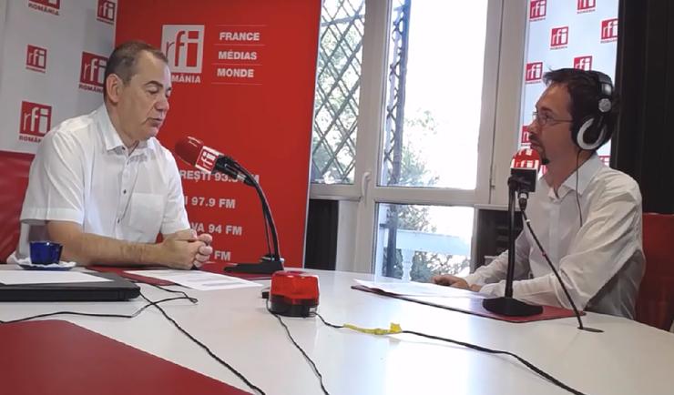 Vlad Alexandrescu, în studioul RFI