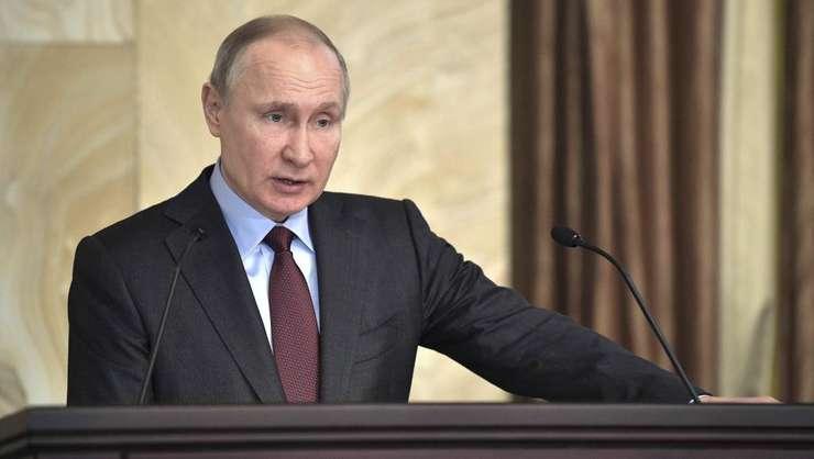Vladimir Putin va obţine un nou mandat de preşedinte, la alegerile de duminică, din Rusia (Foto: Sputnik/Alexei Nikolskyi/Kremlin via Reuters)