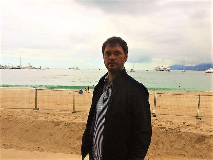 Adi Voicu, la Cannes, 20 mai 2019