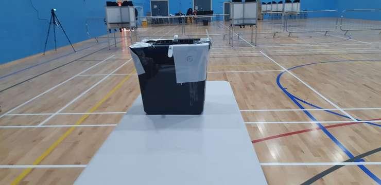 Secțiile de votare 551 și 552 Londra