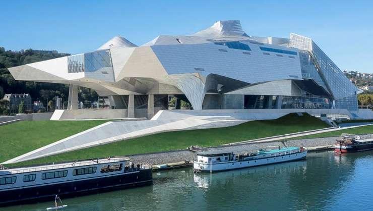 Noul Muzeu al Confluenţelor de la Lyon