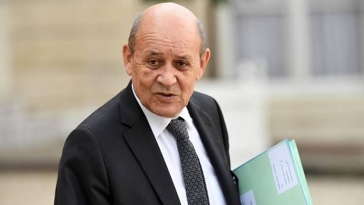 Seful diplomaţiei franceze, Jean-Yves Le Drian.