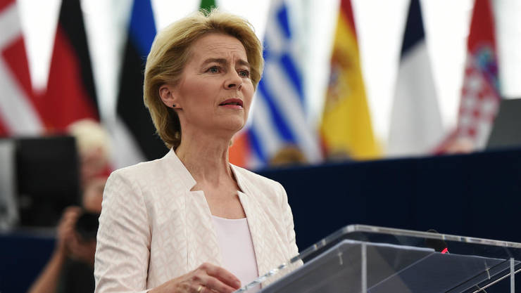 Ursula von der Leyen, noua preşedintă a Comisiei europene