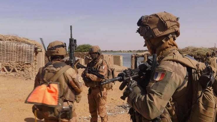 Trupe franceze în Sahel.