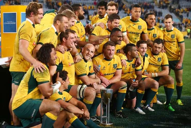 Australia a câștigat Rugby Championship