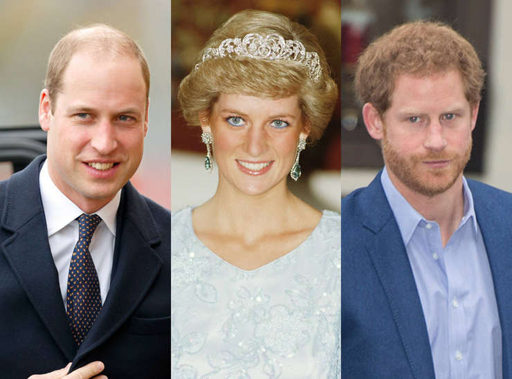 Prințul William, Diana - prințesă de Wales, Prințul Harry
